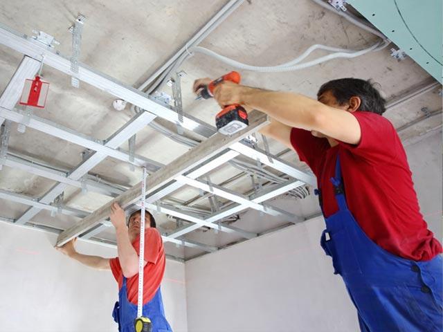 Geliefde Het Gyproc plafond | Gyproc-Plaatsers.be LB29